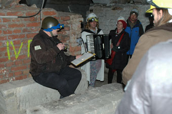 cobi-Lesung im Bunker
