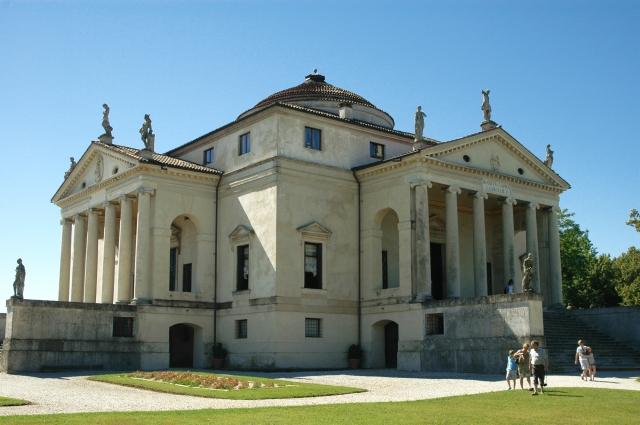 Die Villa La Rotonda von Andrea Palladio